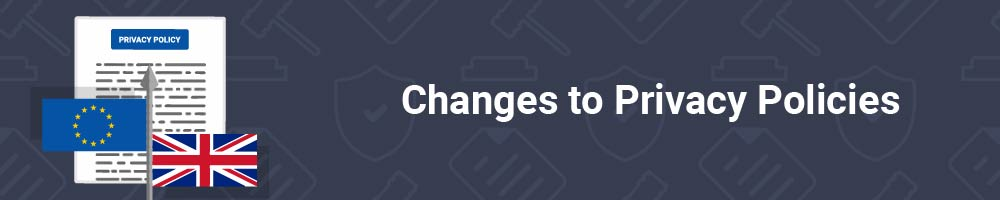 Changes to Privacy Policies