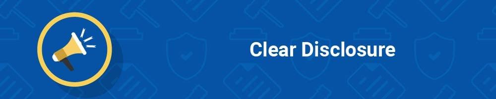 Clear Disclosure
