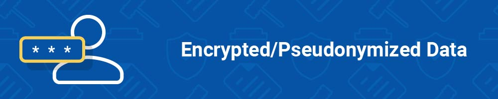 Encrypted - Pseudonymized Data