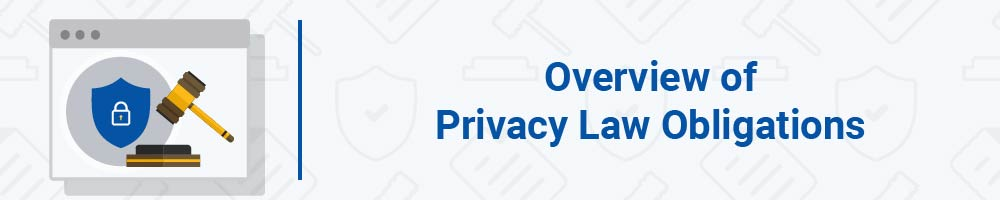 Overview of Privacy Law Obligations