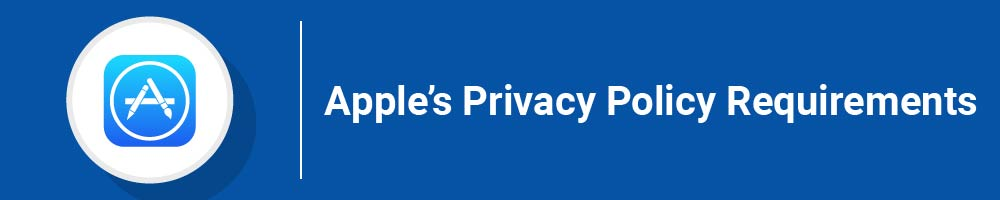 Apple's Privacy Policy Requirements