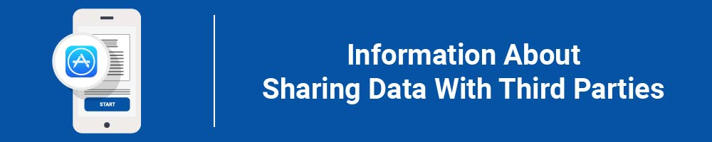 Information About Sharing Data With Third Parties