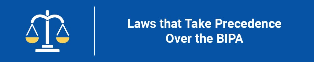 Laws that Take Precedence Over the BIPA