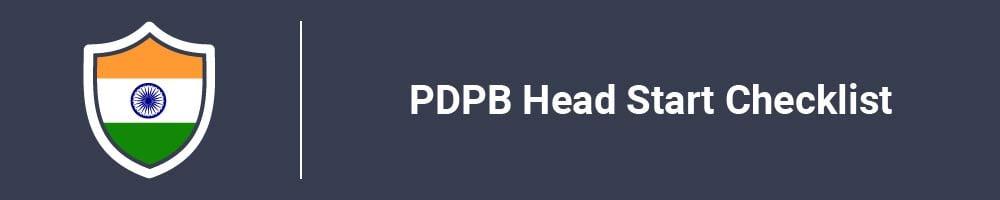 PDPB Head Start Checklist