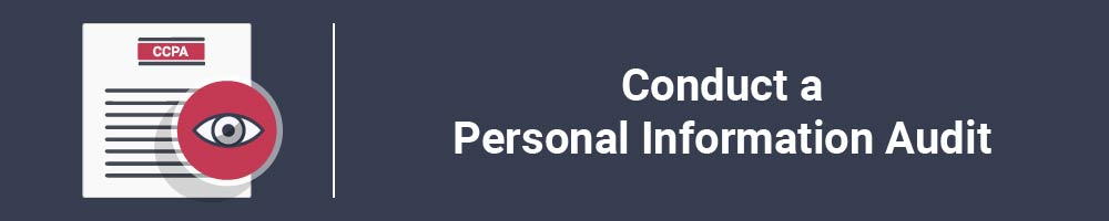 Conduct a Personal Information Audit