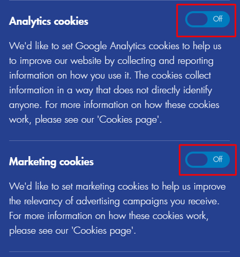 Joining the Police UK Cookies Consent Notice