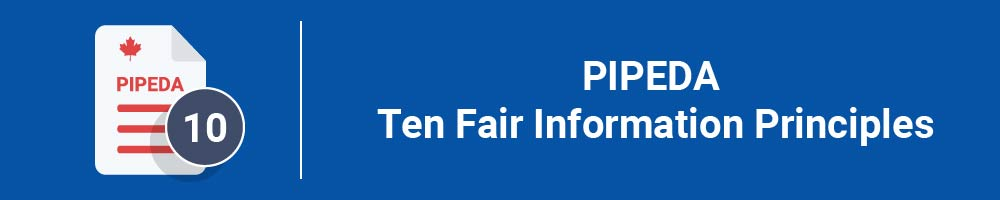 PIPEDA Ten Fair Information Principles