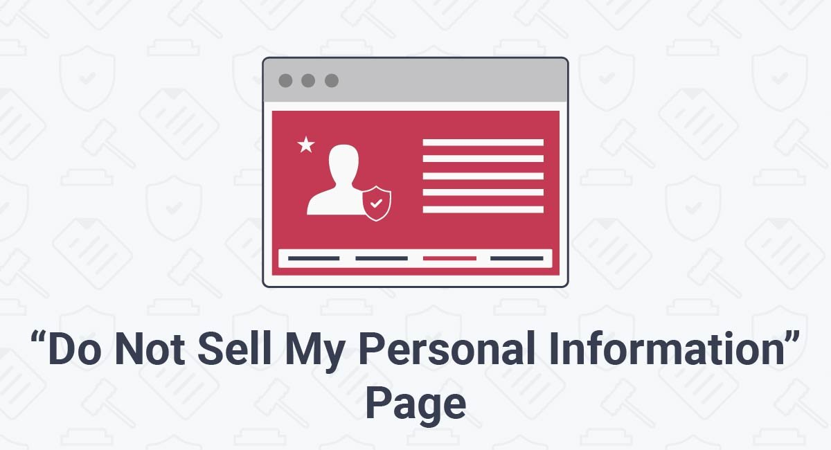 "Image for: ""Do Not Sell My Personal Information"" Page"