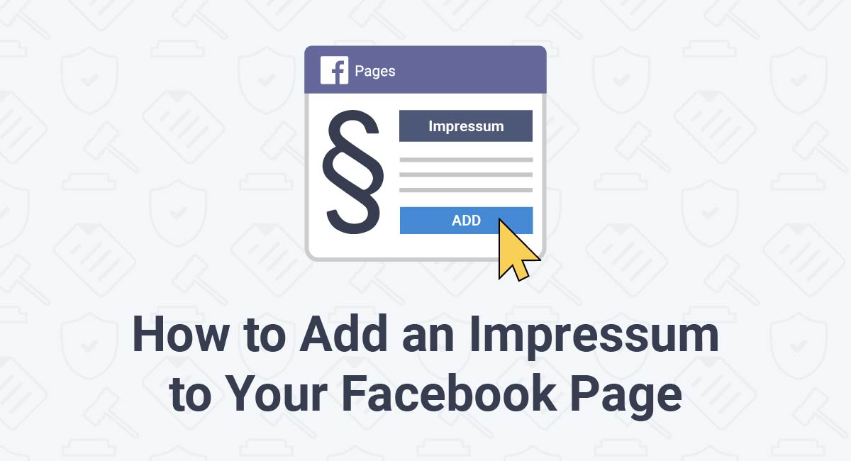 How to Add an Impressum to Your Facebook Page