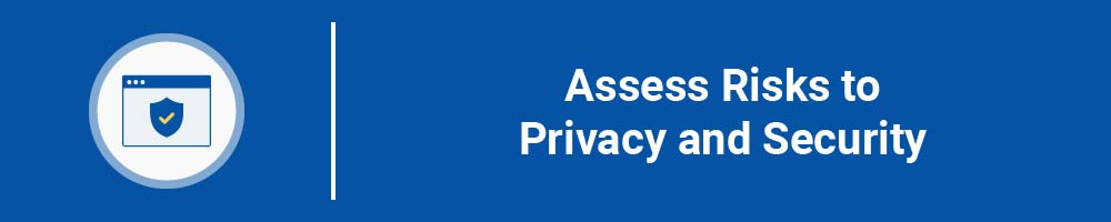 Assess Risks to Privacy and Security