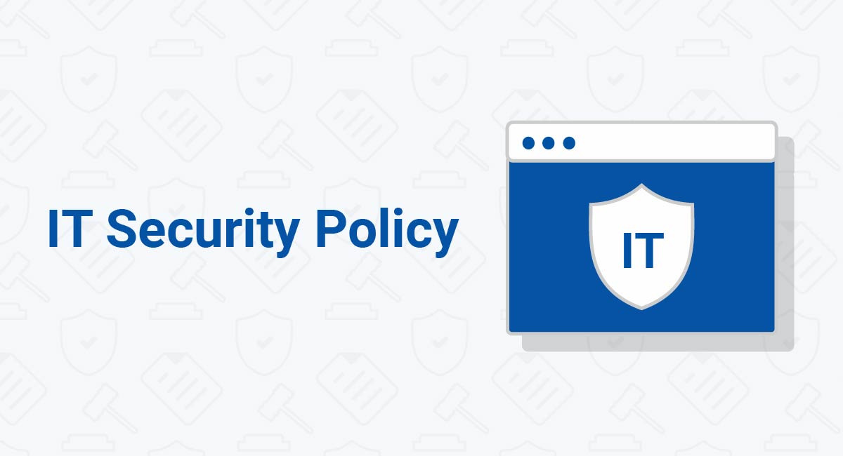 IT Security Policy