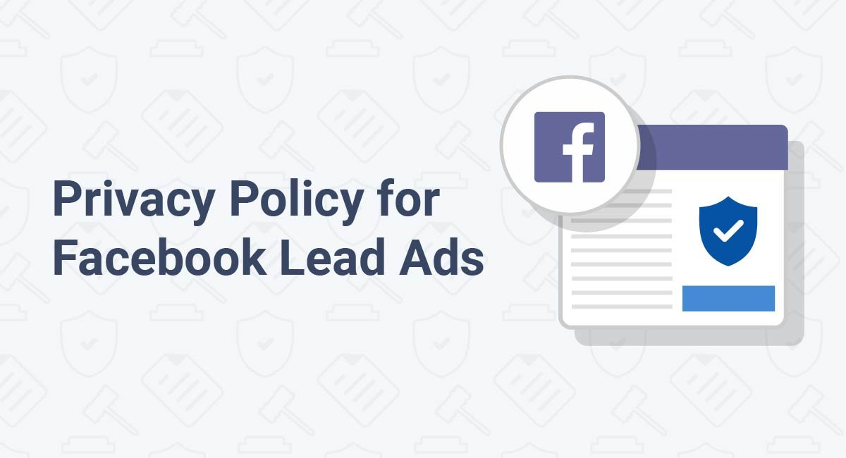 Privacy Policy for Facebook Lead Ads