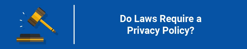 Do Laws Require a Privacy Policy?
