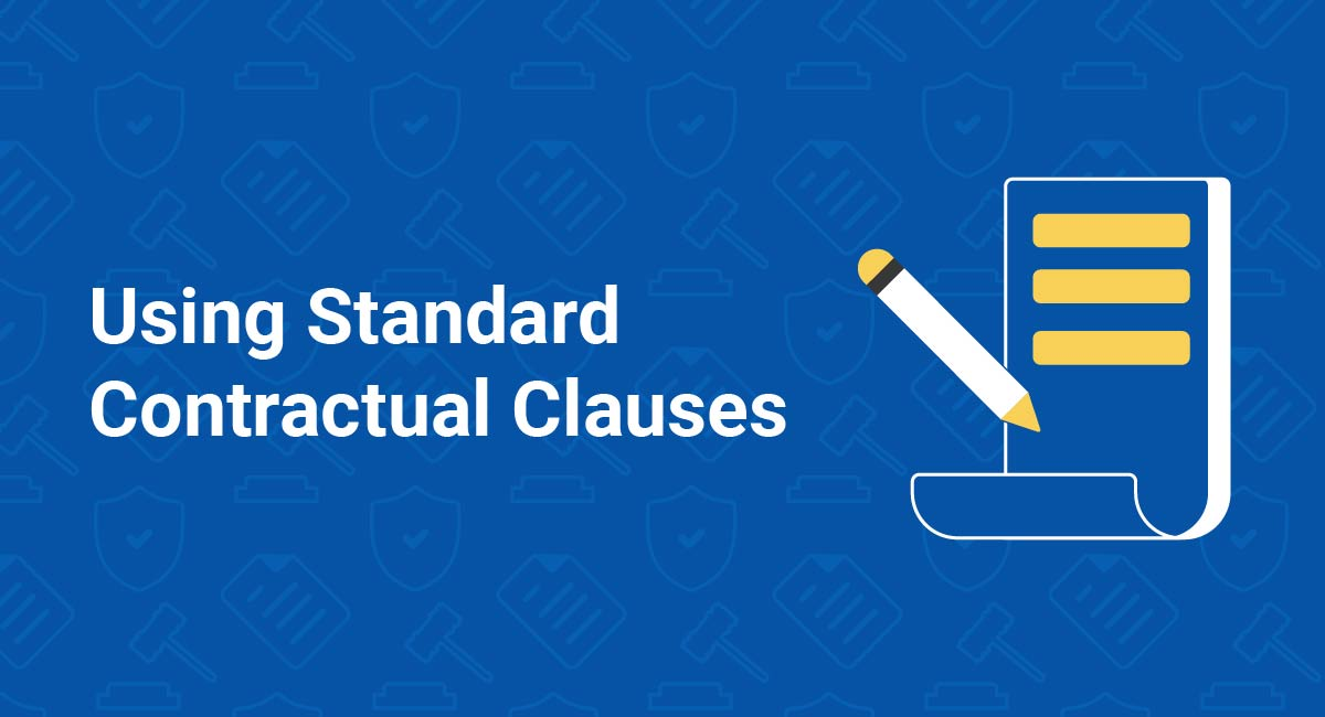 Using Standard Contractual Clauses