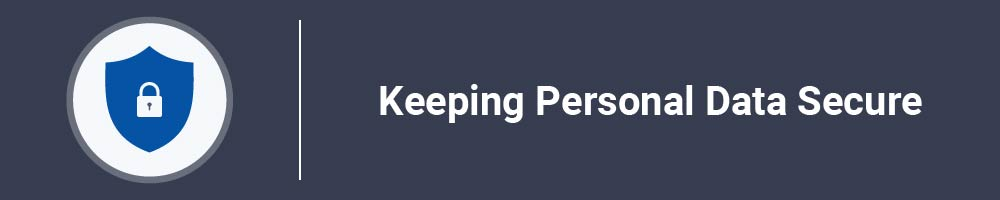 Keeping Personal Data Secure