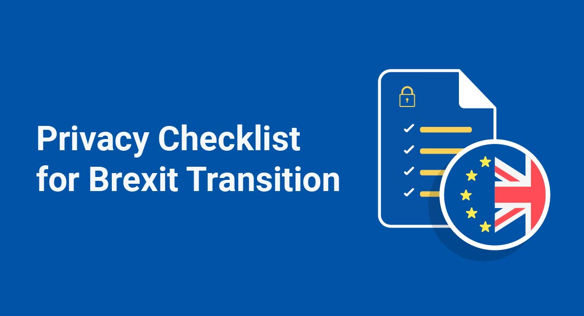 Privacy Checklist for Brexit Transition