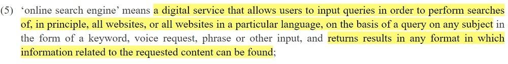 EUR-Lex P2BR: Article 2 Section 5