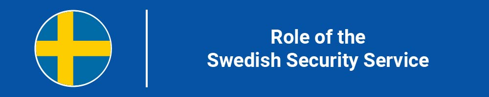 Role of the Swedish Security Service