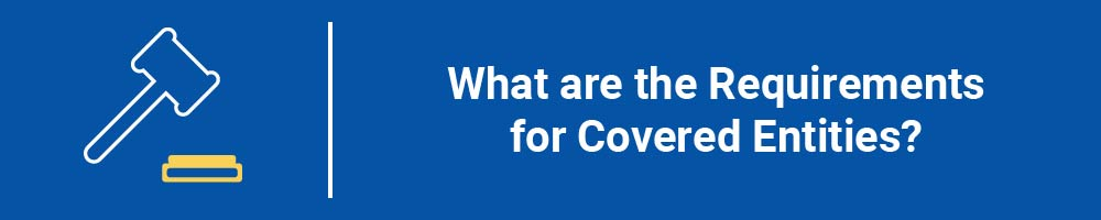 What are the Requirements for Covered Entities?