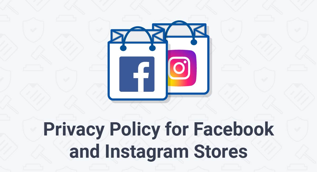 Privacy Policy for Facebook and Instagram Stores