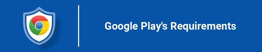 Google Play's Requirements