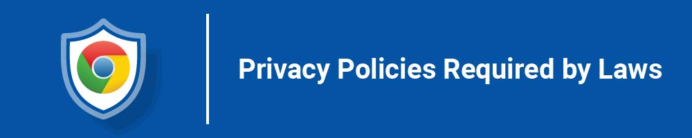 Privacy Policies Required by Laws