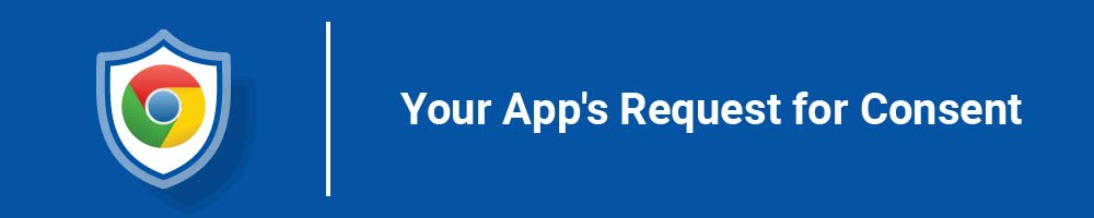 Your App's Request for Consent