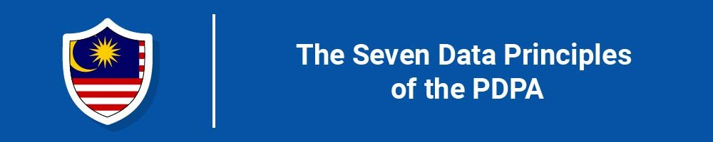 The Seven Data Principles of the PDPA