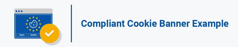 Compliant Cookie Banner Example