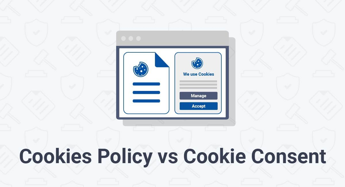 Cookies Policy vs Cookie Consent